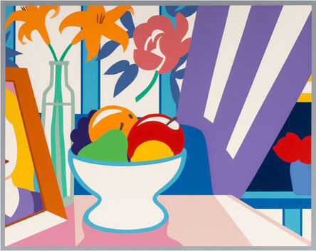 Tom Wesselmann, 'Still Life with Lilies and Mixed Fruit', 1998