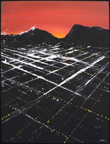 Pete Kasprzak, 'Bogart Sunset Aerial', 2020