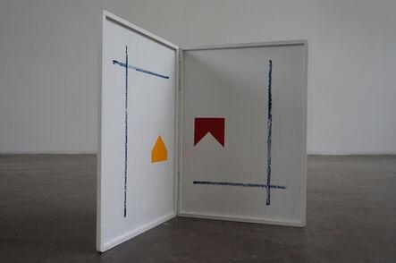 Almandrade, 'Mondrian / Malevitch', 1987