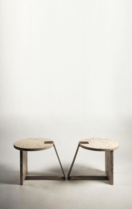 Federico Peri, 'Pair of Anello low tables', 2016