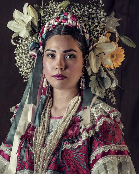 Jimmy Nelson, 'XXXVII 47, Tehuanas, Oaxaca, Mexico', 2017