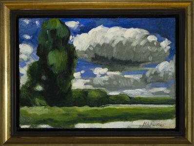 Marc-Aurèle Fortin, 'Paysage - Étude', 1938