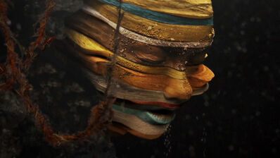 """Björk, 'Video still from """"Mutual Core"""" directed by Andrew Thomas Huang', 2012"""