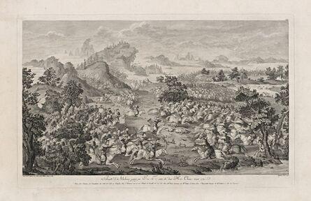 Isidore-Stanislaus-Henri Helman, 'Bataille d'Altchouv... (plate XIV)', 1783