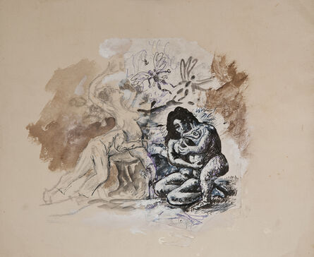 """Antonio Berni, 'Sin Título. Variaciones del tríptico """"El jardín de las delicias, ca. 1503-1515, de El Bosco""""', 1977"""