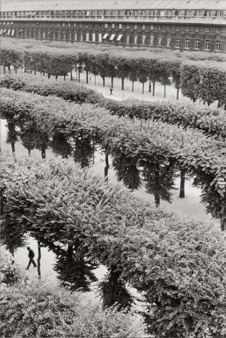Henri Cartier-Bresson, 'Gardens of the Palais Royal, Paris', 1959-printed later