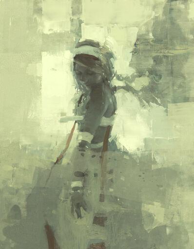 Jeremy Mann, 'Note in Pale Green No. 7'