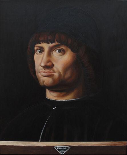 Michel Boubon, 'D'après Antonello Da Messina - Portrait d'homme, dit Le Condottiere', 2016