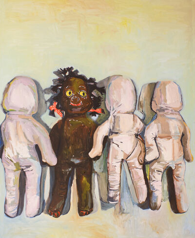 Beverly McIver, 'Gracie's White Friends', 2016