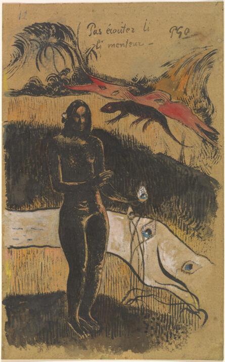 Paul Gauguin, 'Nave Nave Fenua', probably 1894