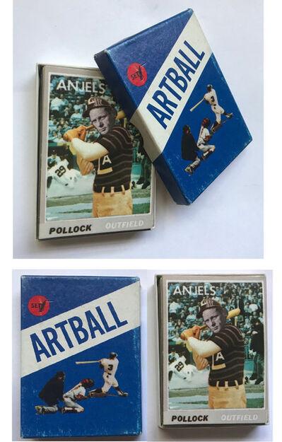 "Alberto Giacometti, '""ARTBALL""- Set #1, Don Celender, 1971, Multiple Edition Playing Cards', 1971"
