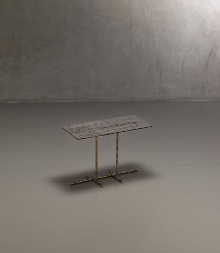 """Osanna Visconti di Modrone, '""""Rilievi"""" collection low table', 2015"""