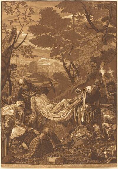 John Baptist Jackson after Jacopo Bassano, 'The Entombment', 1739