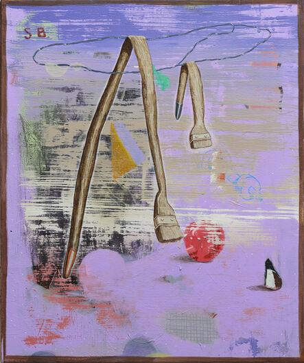 Stijn Bastianen, 'Floppy brush', 2019