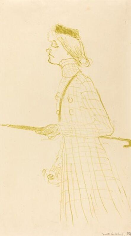 Henri de Toulouse-Lautrec, 'Yvette Guilbert', 1894