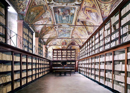 Candida Höfer, 'Archivio di Stato Napoli I', 2009
