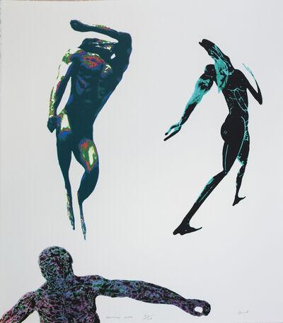 Leon Golub, 'Dancing Men', 1993