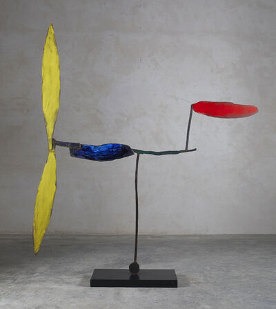 Riera i Aragó, 'Airplane with Red Tail (AFP1)', 2008