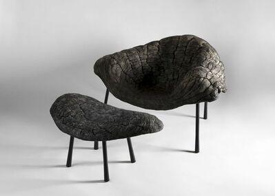 Ayala Serfaty, 'Sato Leh, Contemporary Lounge Chair and Ottoman', Israel-2017
