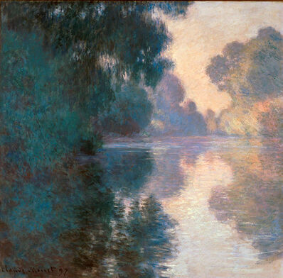 Claude Monet, 'Morning on the Seine, Good Weather', 1897
