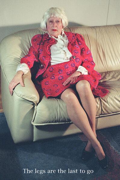 Martha Wilson, 'The Legs are the Last to Go', 2009