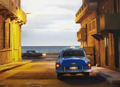 Robert Gniewek, 'Havana Malecón View, Twilight #2', 2019