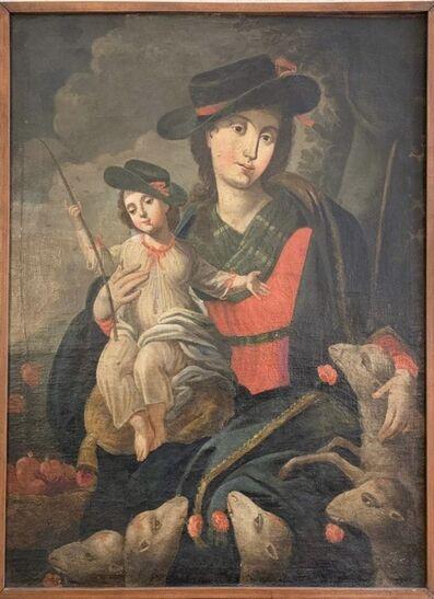 Cuzco School, 'Divina Pastora', 1640-1690