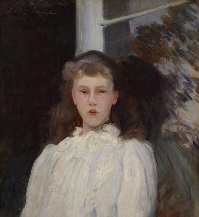 John Singer Sargent, 'Polly Barnard (Girl in White Muslin)', 1889