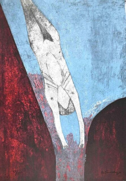 Rufino Tamayo, 'Plunge into the Abyss', 1974
