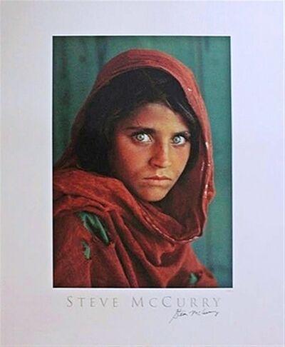 Steve McCurry, 'Sharbat Gula, Afghan Girl, Pakistan (Hand Signed)', 1984
