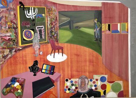 Samuel Iztueta, 'Red Studio III', 2018