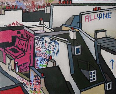 Julia Malinina, 'Graffiti Series. Julia.  ', 2014