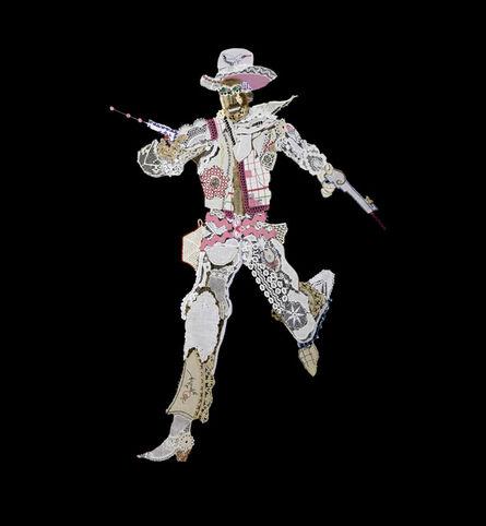 Lisa Kokin, 'Cowboy #7 (La Vie en Rose)', 2013