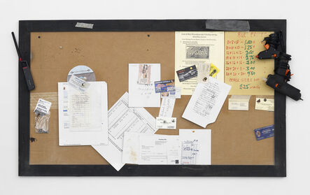 Fiona Connor, 'Notice Board (Cane and Basket Supply) #3', 2016