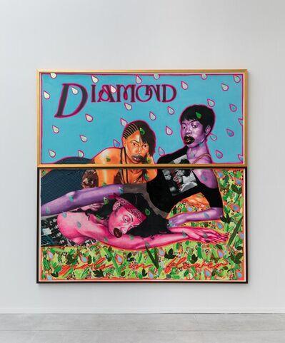 Devan Shimoyama, 'Diamond WIP', 2021