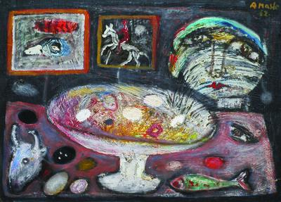 ANTUN MASLE, 'Still Life', 1962
