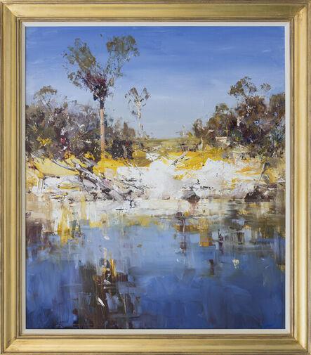 Ken Knight, 'Waterhole & Cockatoos', 2021
