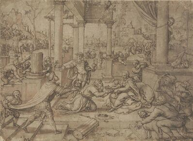Circle of Bernaert van Orley, 'The Adoration of the Magi'