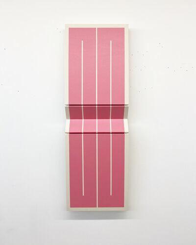 Robert William Moreland, 'Two Pink Rectangles', 2020