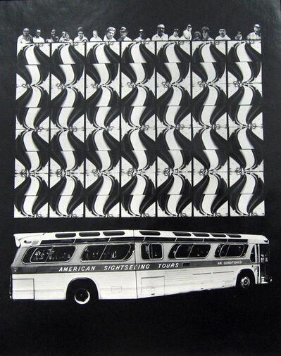 Barbara Crane, 'Bus People', 1975