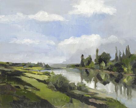Simon Andrew, 'Daubigny Riverside Landscape'