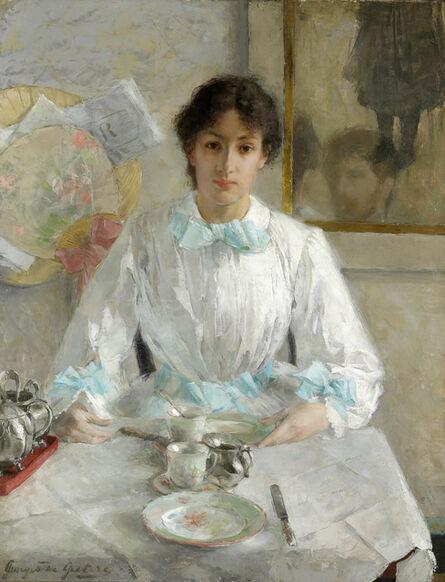 Georges De Geetere, 'Portrait de la femme de l'artiste, sd', Not dated