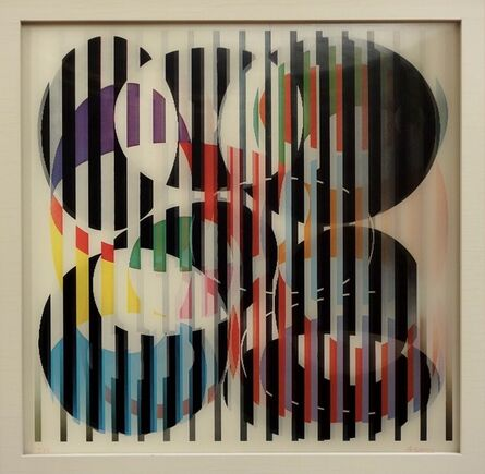 Yaacov Agam, 'Begin the Begin. Also sometimes titled 'Becoming'', ca. 1975