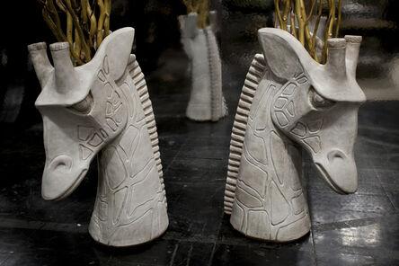 James Salaiz, 'Giraffe Vases', 2014