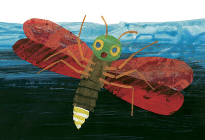 """Eric Carle, 'Illustration from """"The Very Lonely Firefly""""', 1995"""
