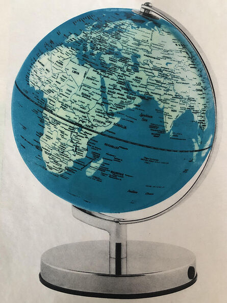 Jenn Law, 'Still, Heirloom Series (Globe 1, Inherit the Earth), hand lithograph, ', 2020