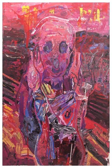 Gerald Davis, 'Scream with Flowers', 2017
