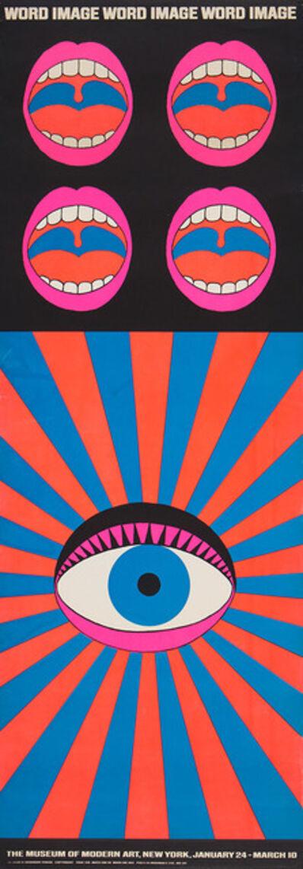 Tadanori Yokoo, 'Word and Image Poster', 1968