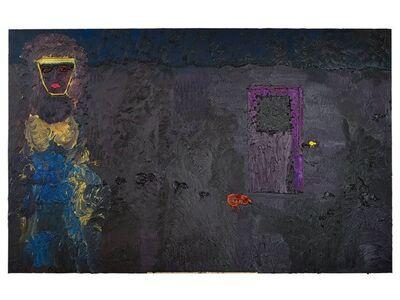 Ecaterina Vrana, 'Self Portrait with Purple Door', 2015