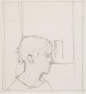 Euan Uglow, 'Idea for Portrait', n.d.